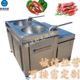 液压灌肠机 大型商用全自动灌肠机 香肠机全不锈钢灌香肠的机器