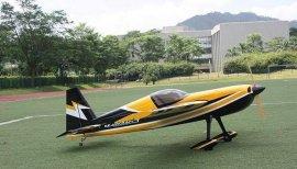 轻木模型飞机SLICK540-50CC
