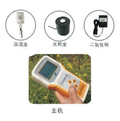 温湿光CO2记录仪TNHY-4检测温湿度、光照强度和二氧化碳