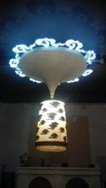 白云吊灯LED灯饰   家庭装饰灯家用照明  吸顶灯 落地灯