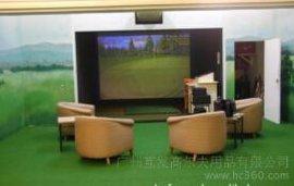 供应 韩国 进口 高尔夫 室内模拟器 自动 回球系统