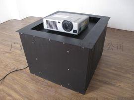 JG630隐藏天花盒式投影机摄像头电动升降吊架隐藏桌面平装升降器