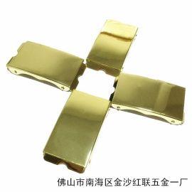 (支付宝保障))佛山工厂低价供应腰带五金配件  扣扣头 铜质