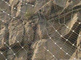 安平创许SNS柔性主动边坡防护网 钢丝绳防护网