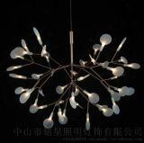 LED葉子燈廠 新款葉子樹叉創意吊燈 荷蘭Moooi LED螢火蟲雪花吊燈