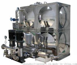 四维无塔供水 罐式无负压供水设备一拖二机组 恒压变频供水装置
