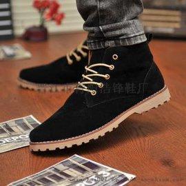 货号579高帮马丁靴休闲男鞋板鞋