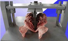 猪头劈半机 高效耐用 福瑞达机械厂制造