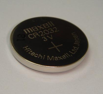 正品现货供应日本万胜MAXELL扣式锂电池CR2032