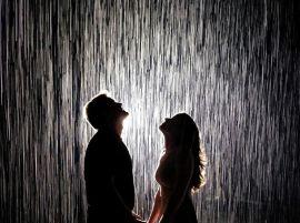 智能体验雨屋感应设备报价淋不湿艺术雨镜设施租赁