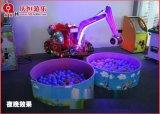慶恆直供甘肅慶陽新款廣場兒童遊樂挖掘機 江西吉安兒童電動挖掘機兒童遊樂設備