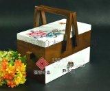 智合设计生产的月饼木盒出口日本
