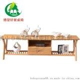 廠家熱銷白蠟實木電視櫃茶幾組合套裝客廳小戶型簡約現代抽屜地櫃
