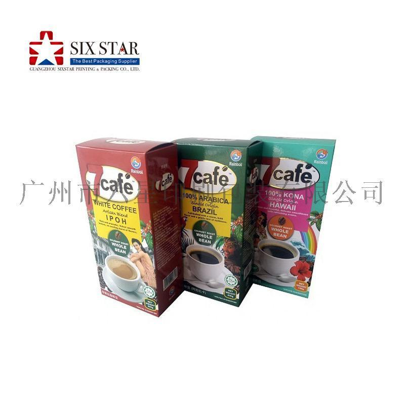 咖啡盒即溶咖啡包装盒食品包装盒纸盒印刷定制