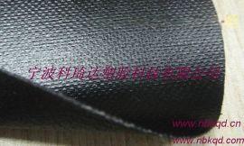 1000D耐磨双面PVC涂层布 环保黑色PVC夹网布 箱包布 阻燃 防水