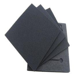 eva泡棉片材泡棉生產廠家加工定製50度黑色防靜電eva泡棉墊