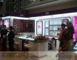 出口環保化妝品展櫃設計定制,歐式玻璃櫃臺,化妝品專櫃高櫃