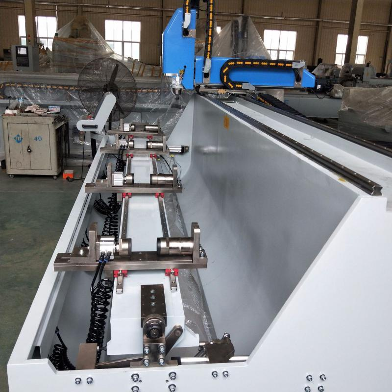 铝型材数控钻铣床 数控铣床 工业铝加工设备