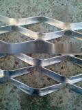 鋁幕牆用鋁板拉伸菱形邊框鋁網格板廠家