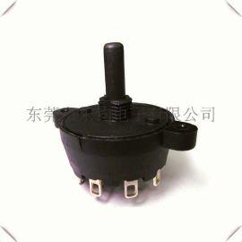 台湾LEGION供应电动汽车三档旋转开关接线图, 4档五档波段开关