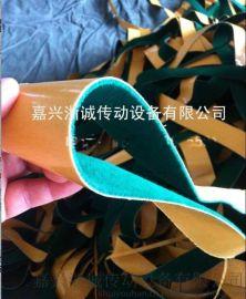 绿绒防滑刺皮  绿色包辊绒布