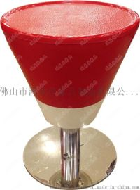 玻璃鋼吧凳,餐廳玻璃鋼吧凳廣東鴻美佳廠家訂制