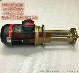 WL-07泵 高温立式旋涡油泵 液下高温泵