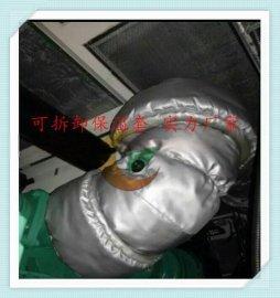 蒸汽管道软保温套可拆卸