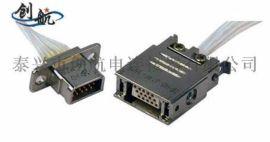 J14A、C、D矩形电连接器、  航空插头