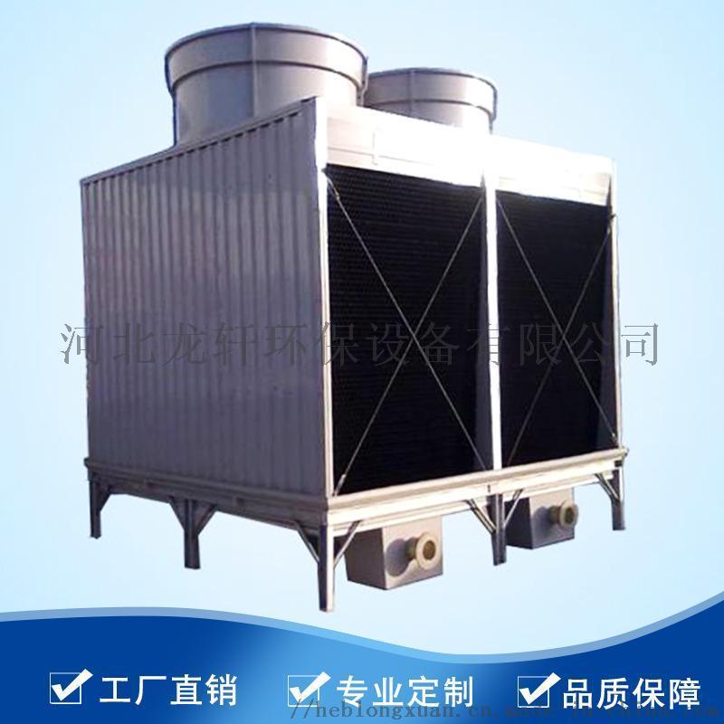 食品机械形冷却塔、逆流式玻璃钢DFNDP-1050冷却塔