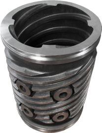 ISO9001:2008 兴宁奥浦熔模铸造机械零件大螺套/screws
