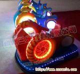 四川重慶地區兒童玻璃鋼風火輪碰碰車價格