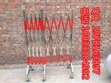 厂家直销不锈钢片式伸缩围栏{HL-YG}反光式围栏