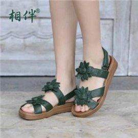 手工名族风女式拖鞋定制_赞步供_潍坊名族风女式拖鞋时尚