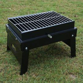 海德A1226冷轧铁工艺户外烧烤银河至尊娱乐登录黑色烧烤炉