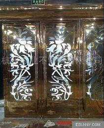 超大不锈钢玻璃门