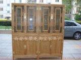 西安红木/榆木/古典/仿古书柜以及书柜定制