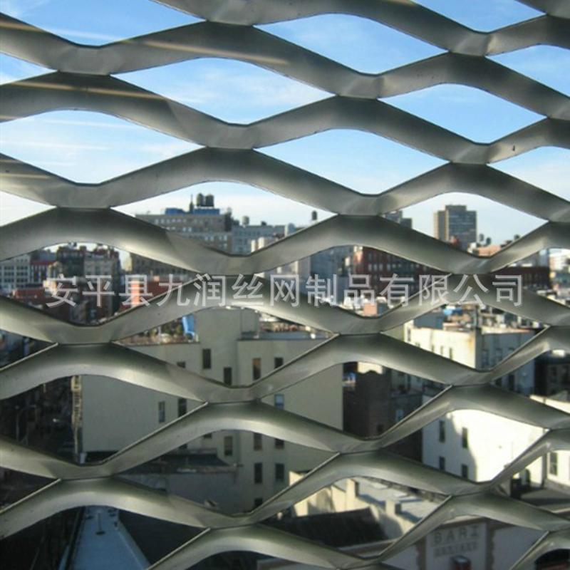 铝板装饰钢板网 菱形幕墙钢板网 天花板装饰板网
