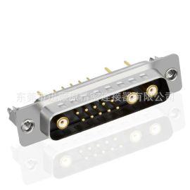 D-SUB同轴射频,同轴射频插板,,D-SUB车针连接器