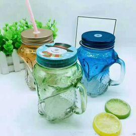 噴塗玻璃杯,吸管玻璃杯,狐狸杯,足球杯