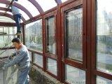 泰州市贝科利尔  弧形顶构件式铝包木阳光房