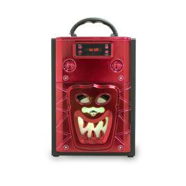 万圣节礼品音箱大功率卡拉OK插卡FM蓝牙礼品音箱