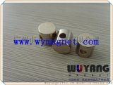廠家供應D5*10mm釹鐵硼圓形磁柱,側打孔