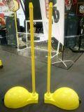厂家直销ABS环保移动式羽毛球柱
