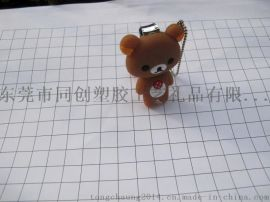 轻松熊PVC软胶指甲钳套,工厂专业定制硅胶指甲钳套