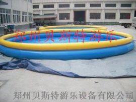 吉林辽源充气水池四季皆宜的儿童游乐设备