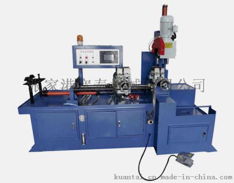 供應350全自動切管機 不鏽鋼鐵管棒料切割機
