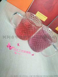 加厚無鉛水晶玻璃杯耐高溫水杯牛奶杯啤酒杯果汁杯茶杯