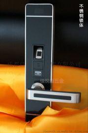 不锈钢指纹锁家用智能密码锁防盗锁