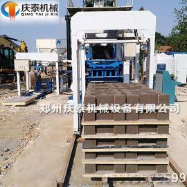 5-15型连锁全自动液压水利河道工字护坡水泥砖机